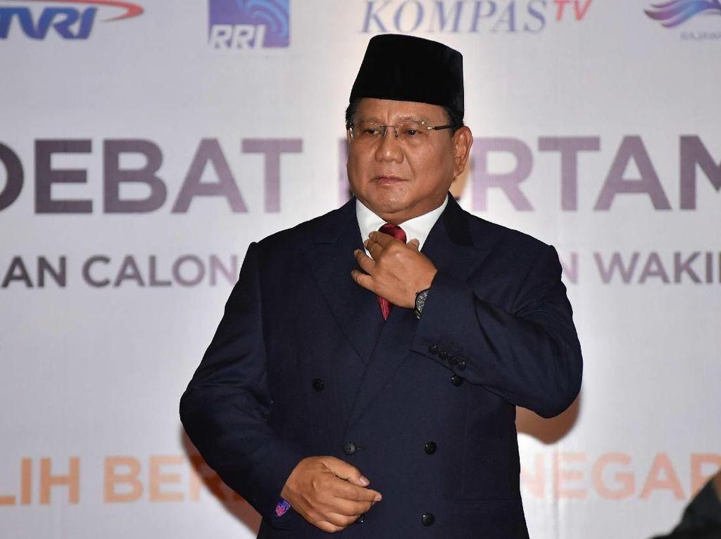 Singgung Mark Up, Prabowo: Taksiran Saya 25% Anggaran Negara Bocor