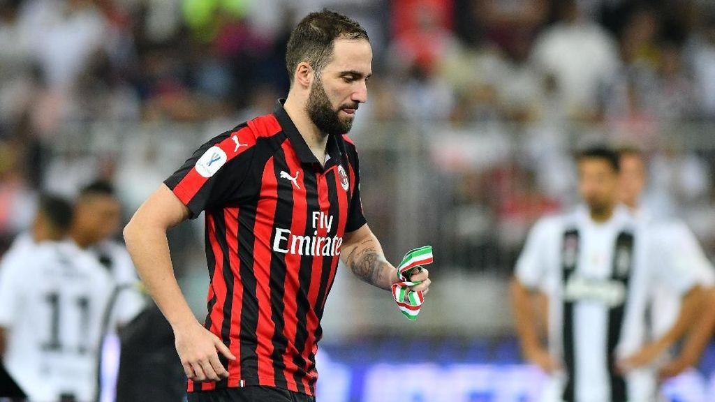 Chelsea dan Juventus Dikabarkan Telah Sepakati Transfer Higuain
