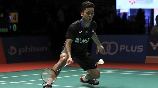 Hasil French Open 2019: Anthony Ginting Gagal ke Final
