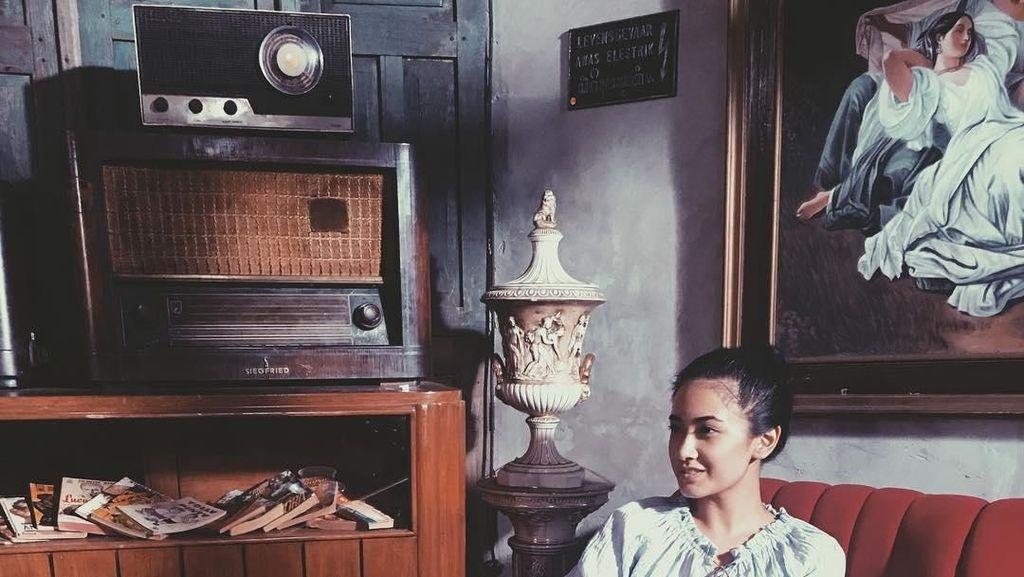 Pemain Film Kafir,  Nadya Arina Ternyata Hobi Ngeteh dan Makan Steak