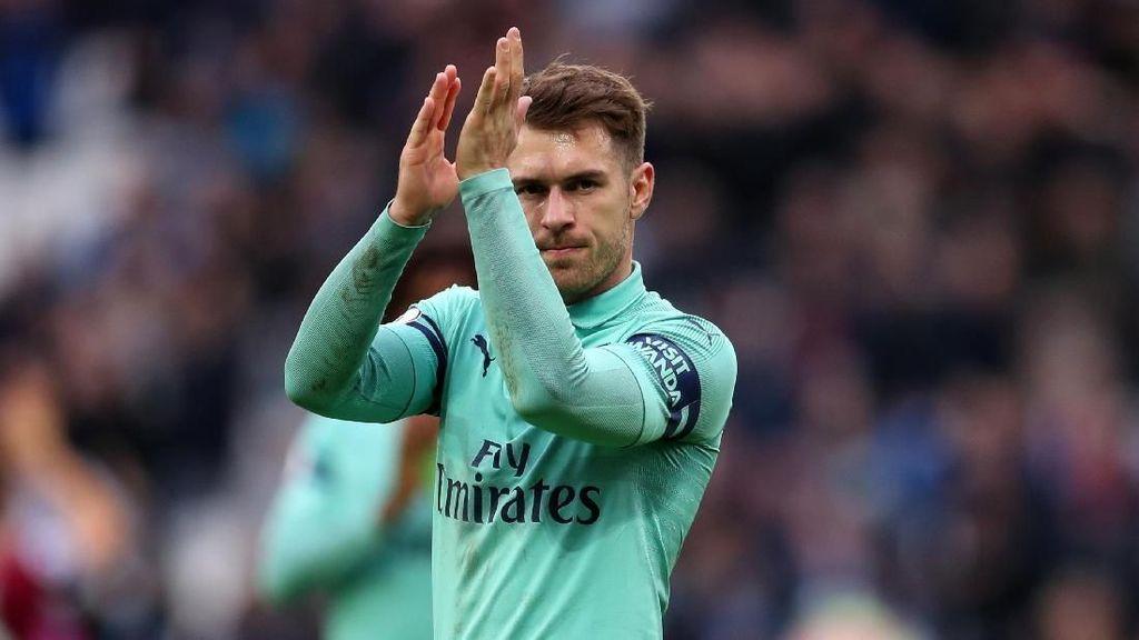 Liburan Pakai Gaji Aaron Ramsey di Juventus, Bisa Buat Apa?
