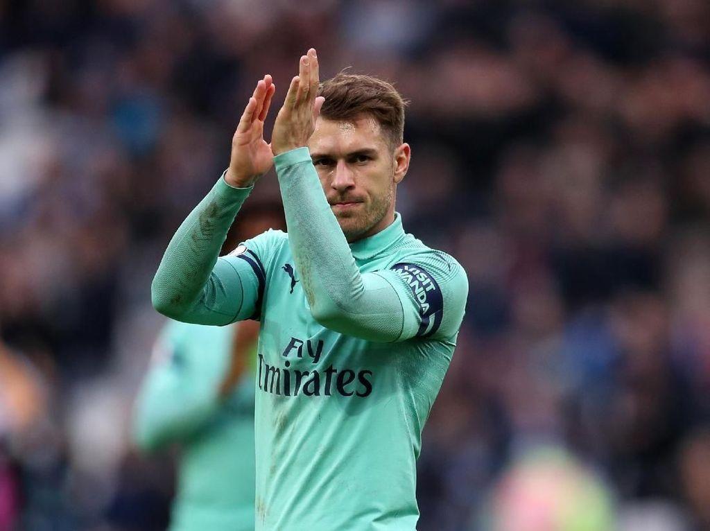 Aaron Ramsey Sudah Teken Kontrak di Juventus?