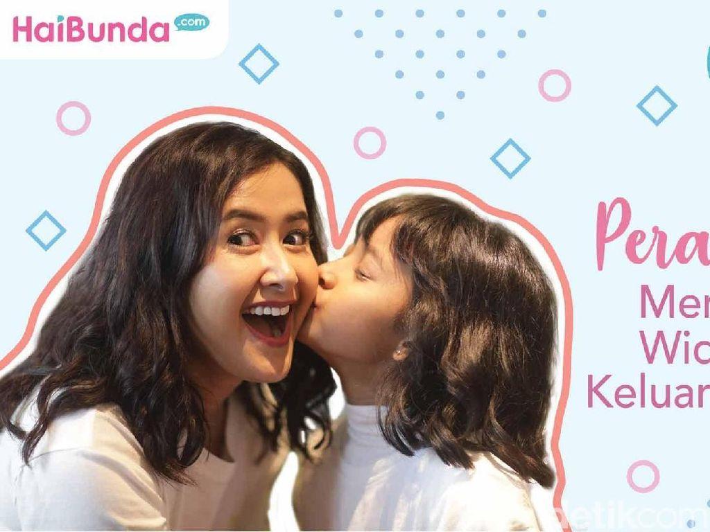 Simak Intimate Interview Widi Mulia Jaga Keharmonisan Keluarga