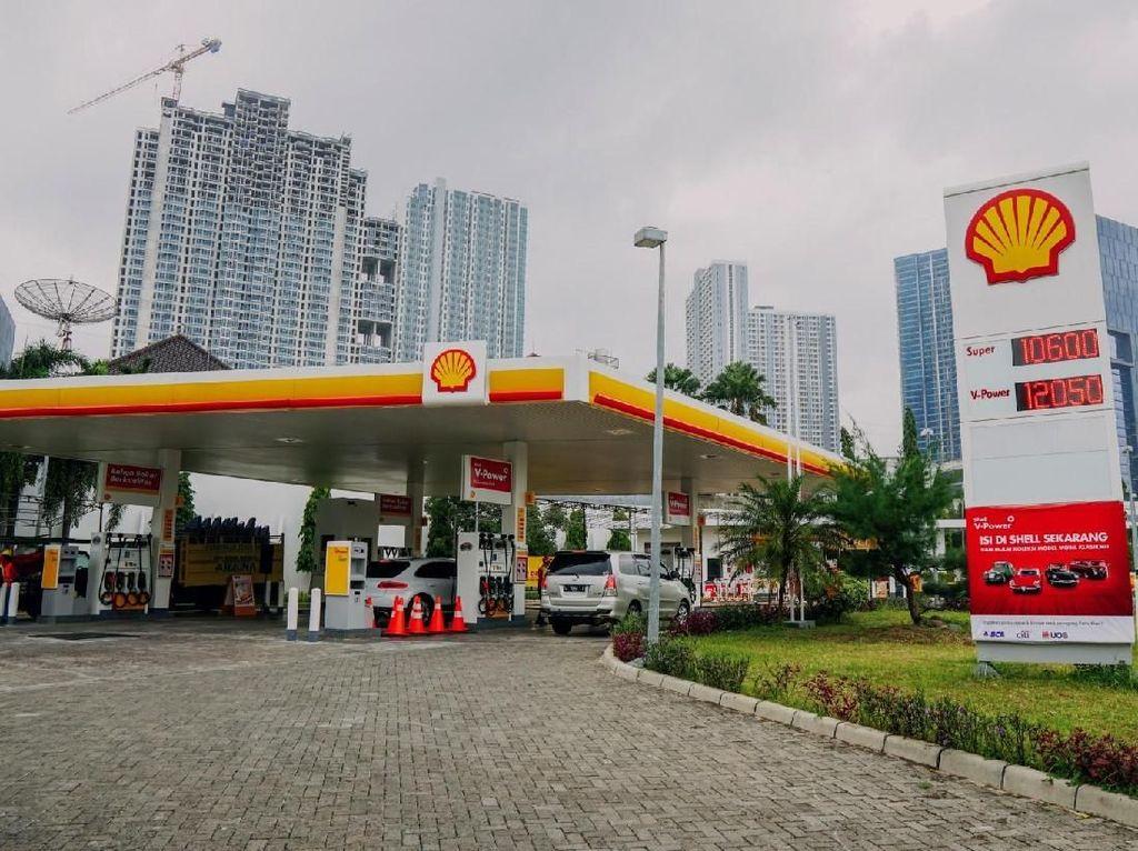 Harga BBM Shell Turun Jadi Rp 9.900 Besok