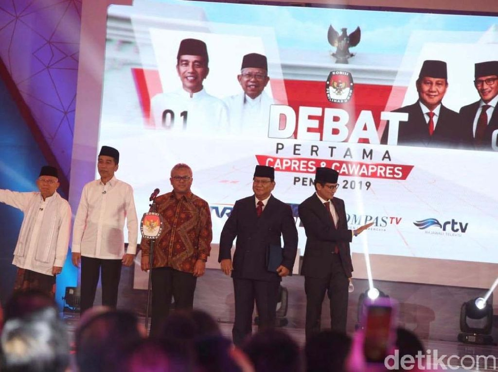 SMRC: Elektabilitas Jokowi-Maruf 57,6% Vs Prabowo-Sandiaga 31,8%