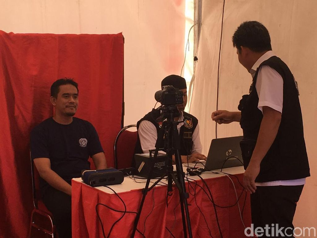 Jelang Pemilu, 25 Tahanan di Gianyar Rekam e-KTP