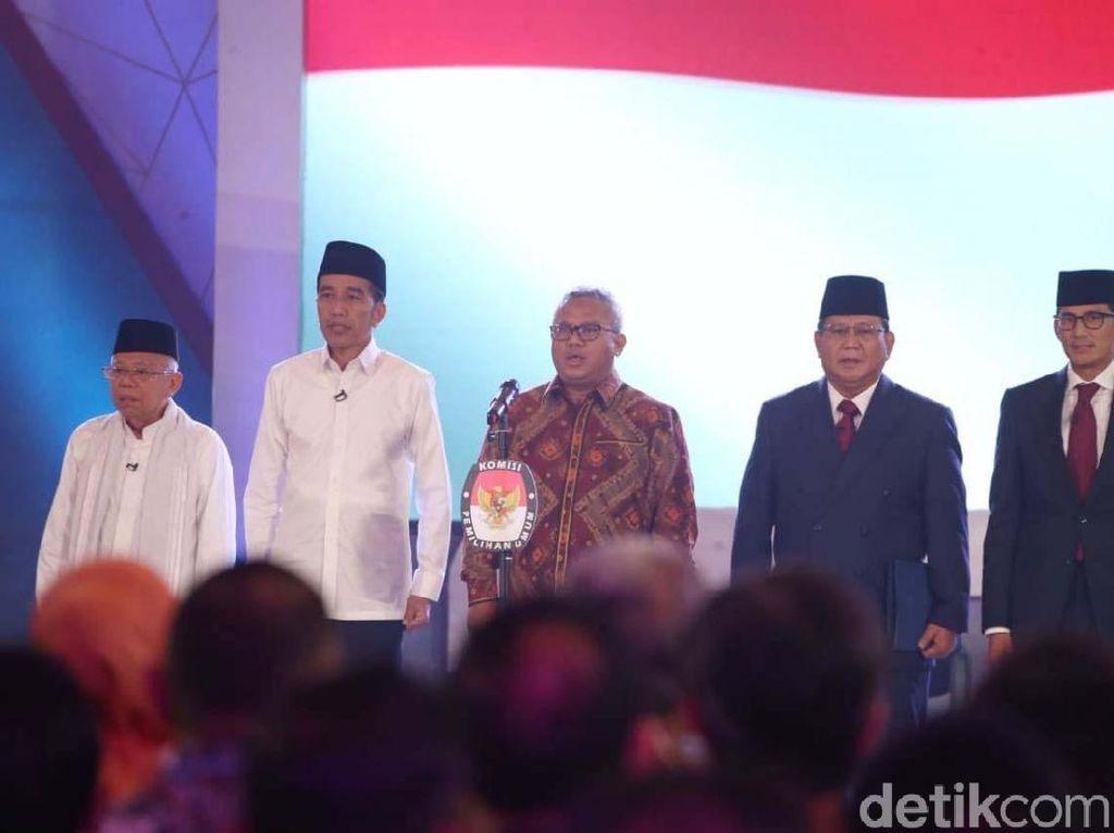 Survei Charta Politika: Jokowi-Maruf 53,6%, Prabowo-Sandiaga 35,4%