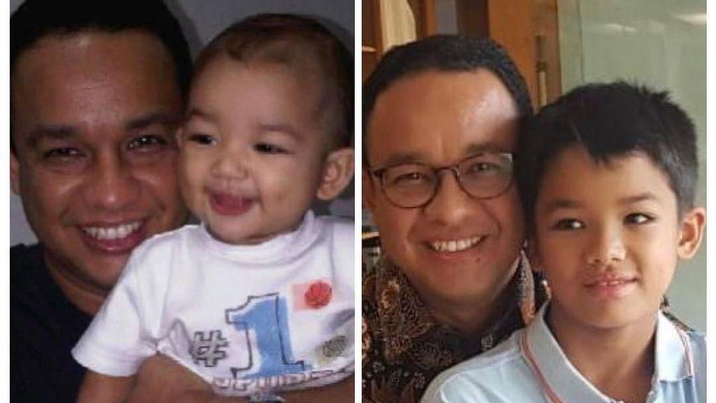 Melihat 10 Year Challenge ala Anies dan Keluarga