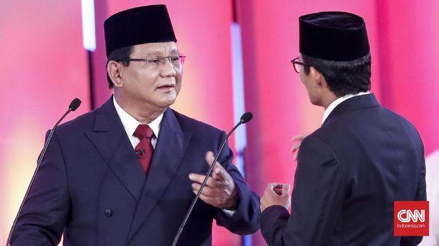 Irama Serangan Petahana dan 'Gol Bunuh Diri' Prabowo