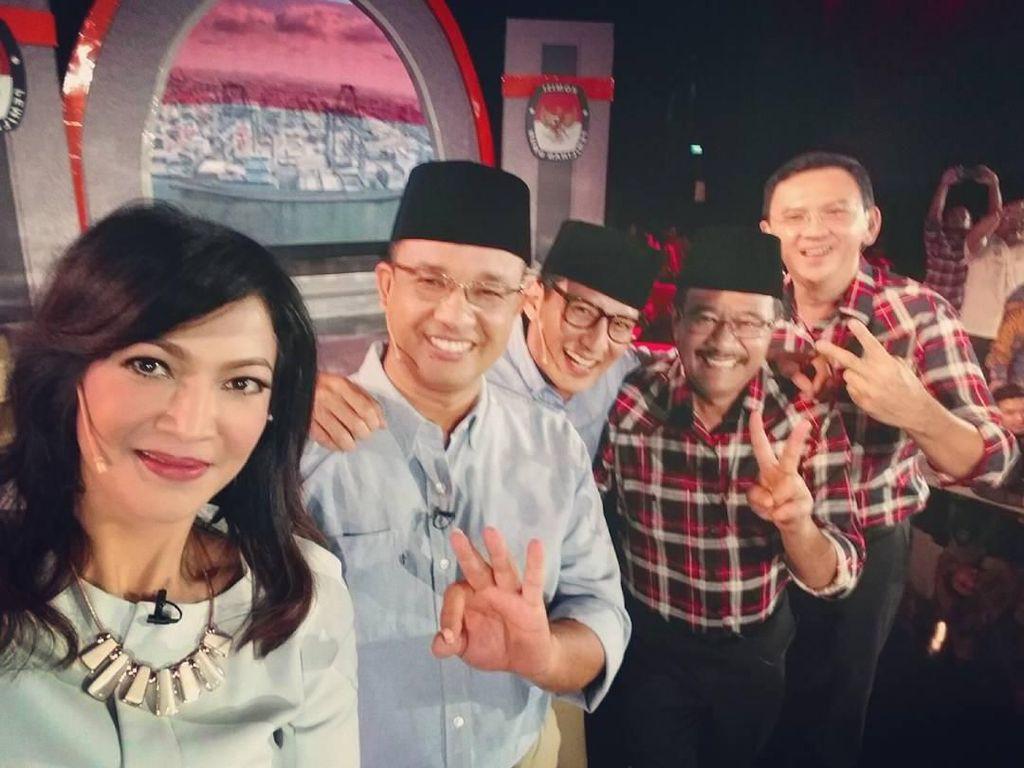 Ira Koesno, Moderator Debat Capres yang Doyan Ngopi dan Kulineran Bareng Teman