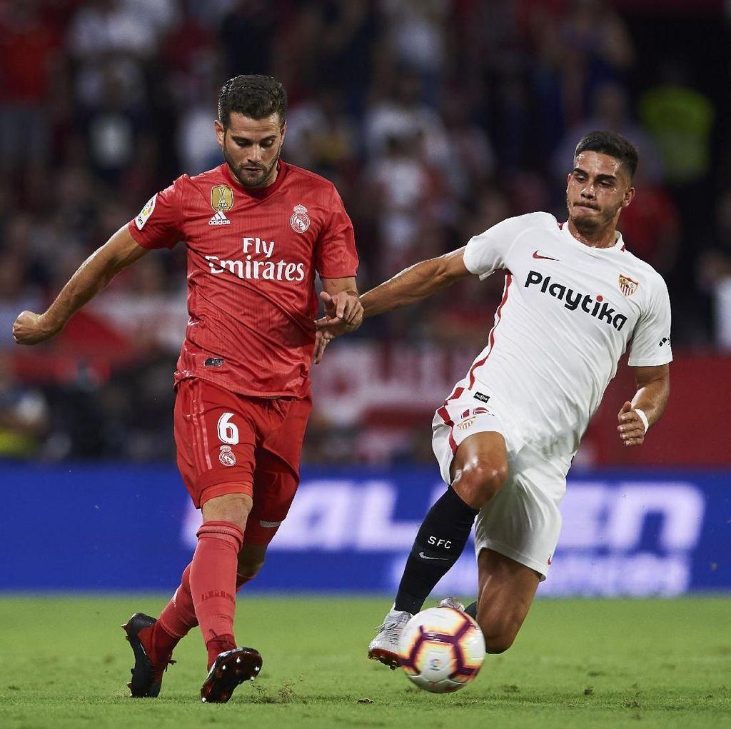 Madrid Diuji Sevilla di Santiago Bernabeu