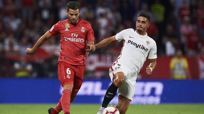 Real Madrid akan menjamu Sevilla di Liga Spanyol akhir pekan ini (Foto: Aitor Alcalde/Getty Images)