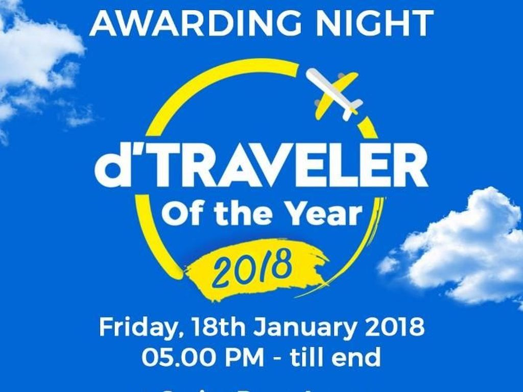 Siap-siap Berpesta di Awarding Night dTraveler of The Year 2018!