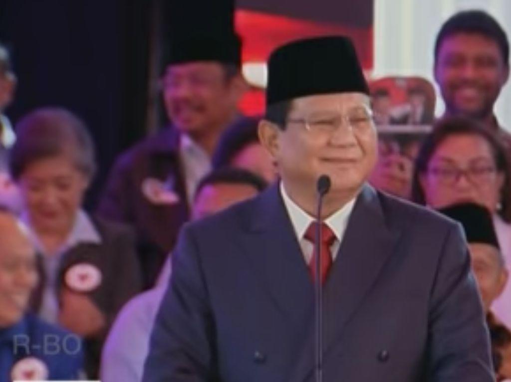 Kata Prabowo 25% Anggaran Negara Bocor, Ini Penjelasan Timses