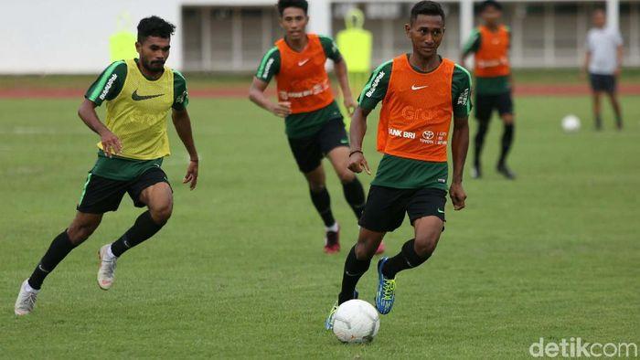 Ilustrasi foto latihan seleksi Timnas Indonesia U-22 (Agung Pambudhy/detikSport)