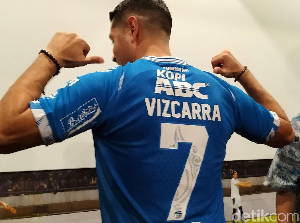 Esteban Vizcarra Batal Pakai Nomor 7, Bukan karena Atep Kembali