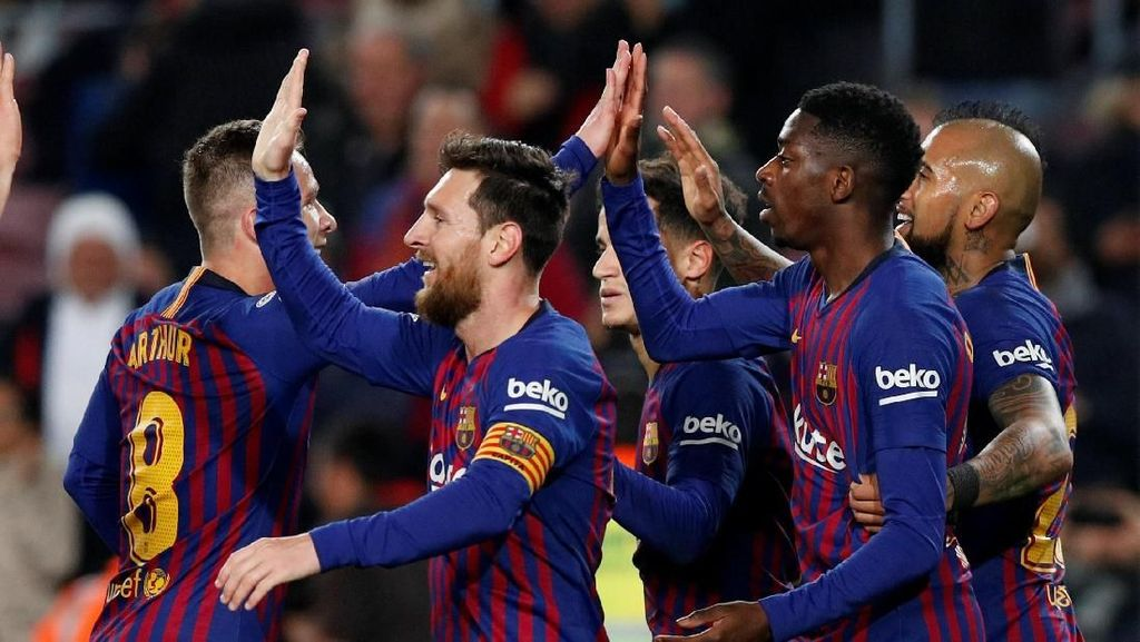 Tak Dihukum, Barcelona Jumpa Sevilla di Perempatfinal Copa del Rey