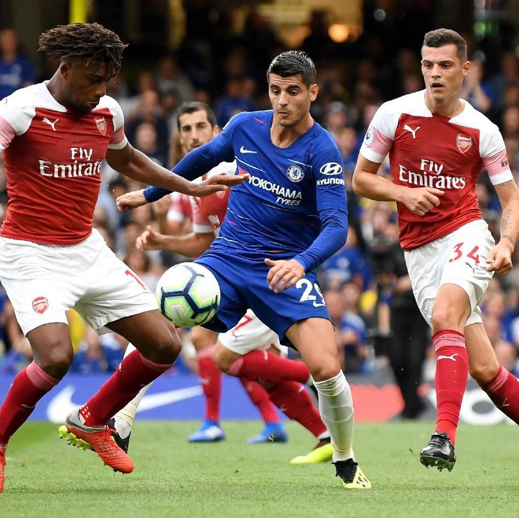 Head-to-Head Arsenal Vs Chelsea: Si Biru Sedang Superior