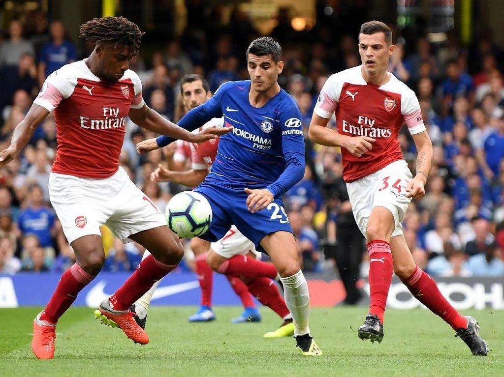 Head-to-Head Arsenal Vs Chelsea: Si Biru Sedang Superior