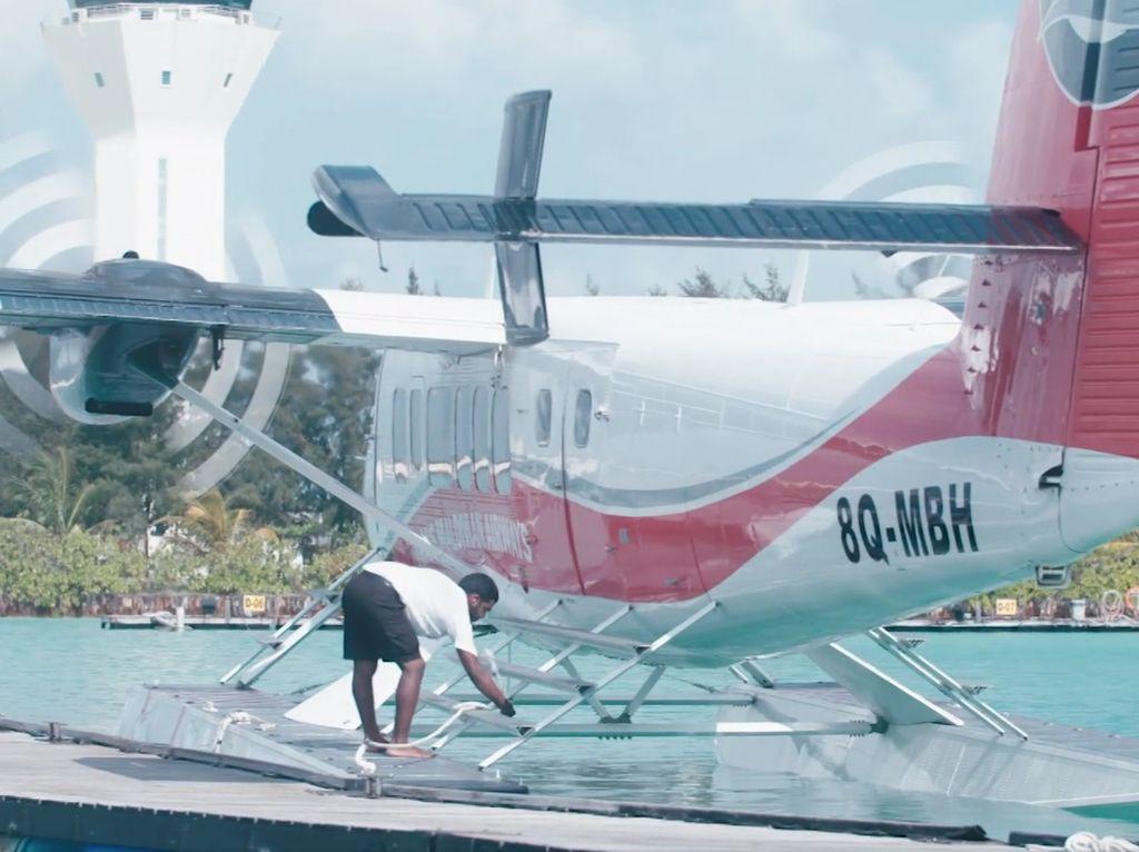 Cerita Pilot Nyeker di Maldives