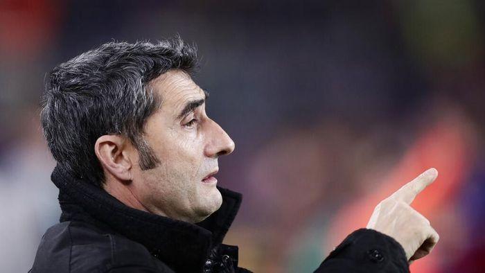 Pelatih Barcelona, Ernesto Valverde. (Foto: AP Photo/Manu Fernandez)