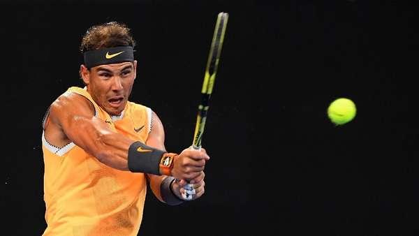 Menang Tiga Set Langsung, Nadal ke Babak 16 Besar
