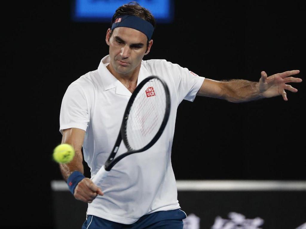 Federer Belum Kehilangan Set