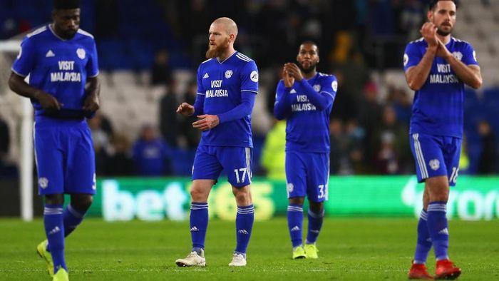 Menurut Transfermarkt, Cardiff City punya nilai skuat mencapai 79,79 juta pound sterling atau sekitar Rp 1,4 triliun. Pemain termahalnya adalah Bobby Reid seharga 9 juta pounds atau Rp 169 miliar. (Foto: Michael Steele/Getty Images)