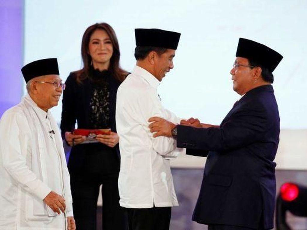 Kata Ahli Gestur soal Penampilan Jokowi dan Prabowo Saat Debat Capres