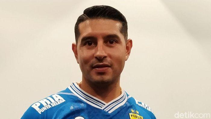 Esteban Vizcarra akan lumpuhkan Arema FC. (Mukhlis Dinillah/detikSport)