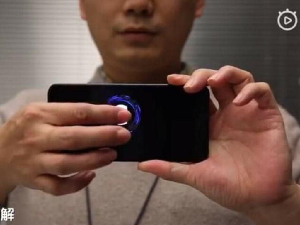 Xiaomi Pamer Teknologi Sensor Sidik Jari Terbaru