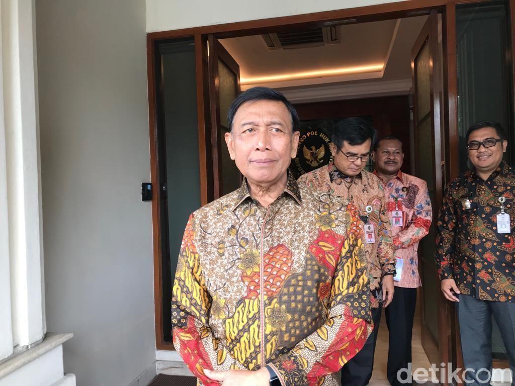 Menko Polhukam Wiranto Pimpin Rakortas Bahas RPP Objek Vital