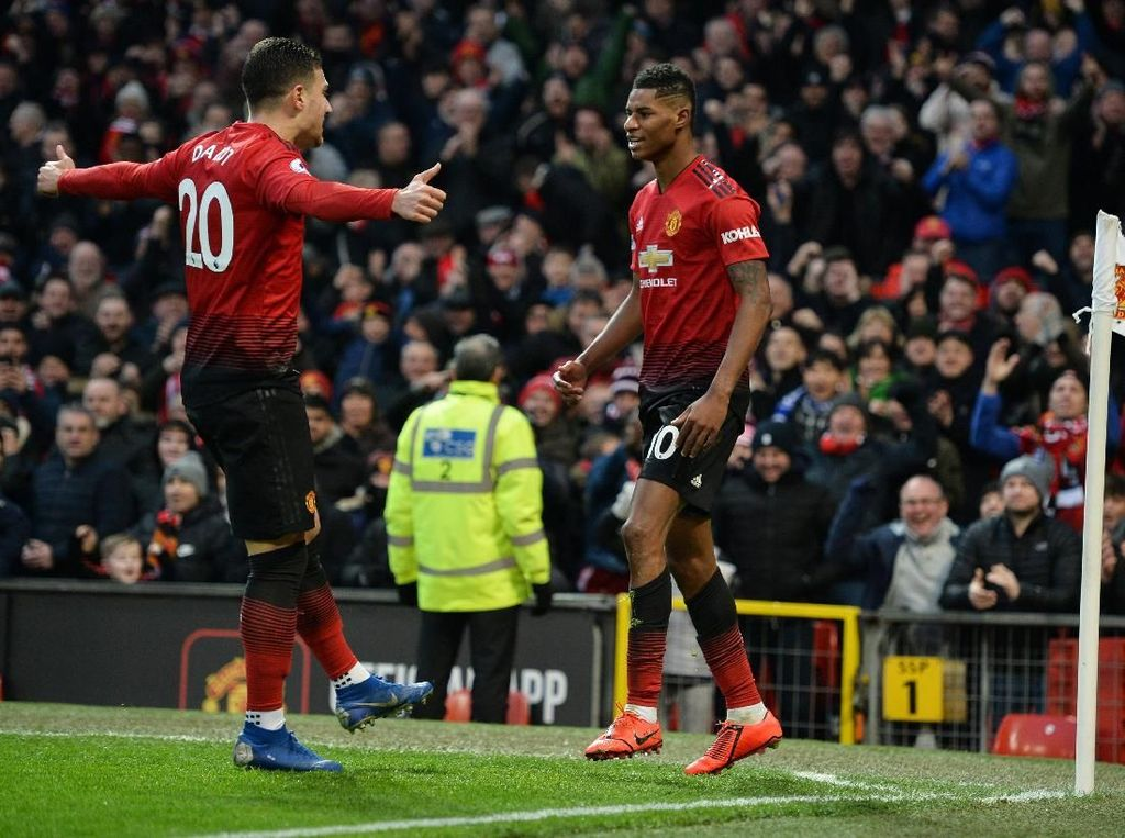 Hasil Liga Inggris: Man United 2-1 Brighton