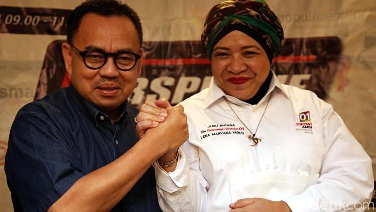 Kritik Dua Kubu Capres Usai Debat Perdana Pilpres