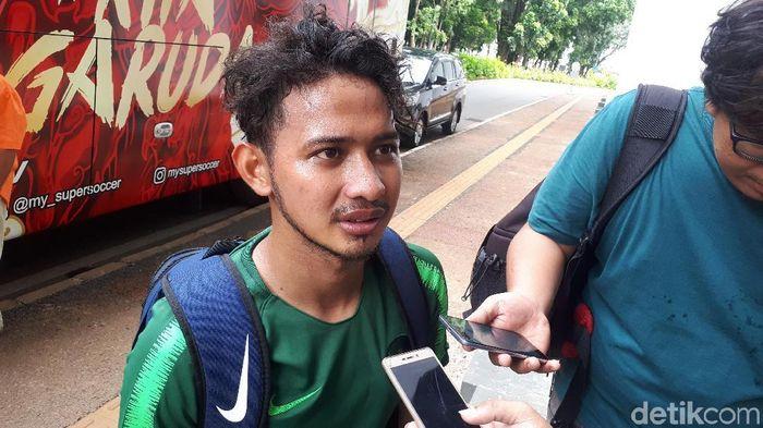 Gian Zola ikut seleksi Timnas Indonesia U-22 (Mercy Raya/detikSport)