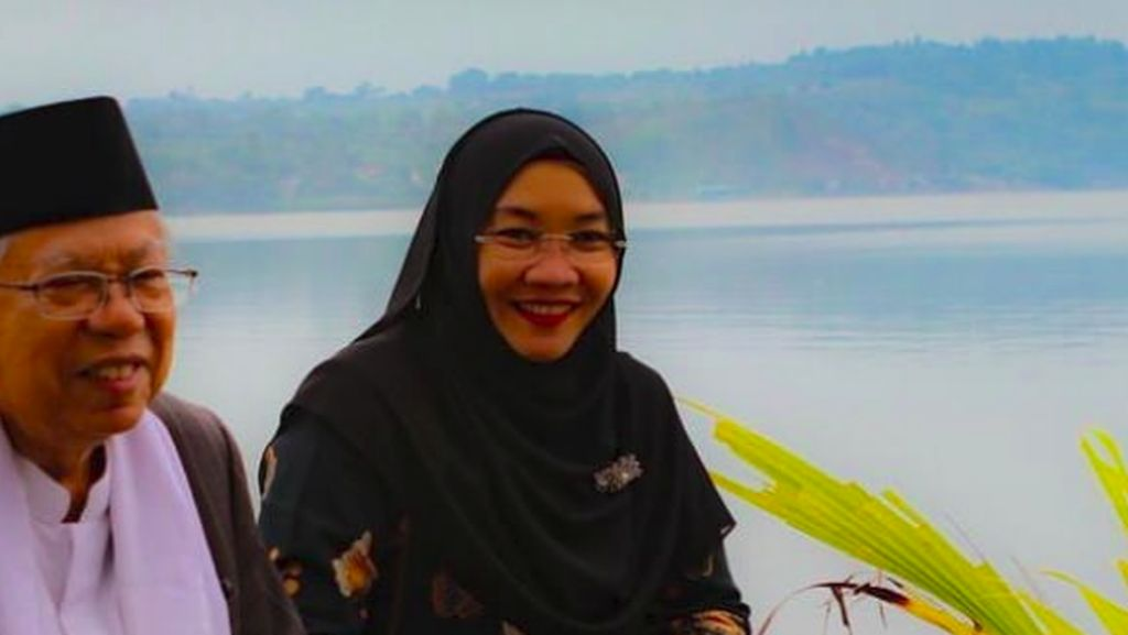Sosok Tak Banyak Bicara, Potret Maruf Amin Bersama Sang Istri