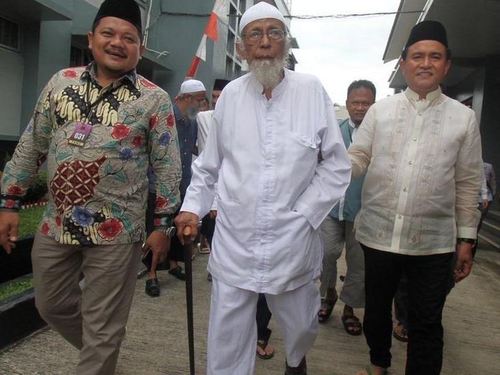 Abu Bakar Baasyir Tak akan Gunakan Hak Pilihnya di Pemilu 2019