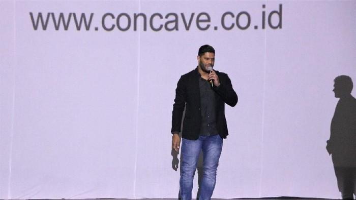 Hulk jadi Brand Ambassador sepatu Concave (dok.Concave Indonesia)