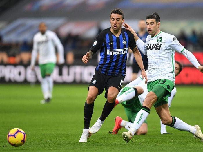 Inter Milan memetik hasil Imbang saat melawan Sassuolo. (Foto: Daniele Mascolo/Reuters)
