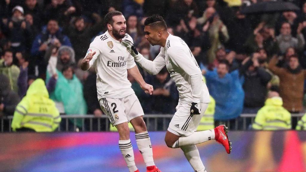 Real Madrid Tumpul, Casemiro: Bukan Cuma Salah Striker