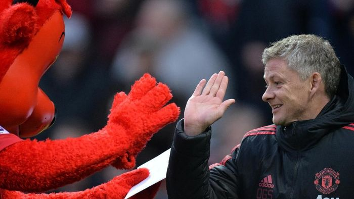 Manajer Manchester Unitd, Ole Gunnar Solskjaer. (Foto: Peter Powell/Reuters)