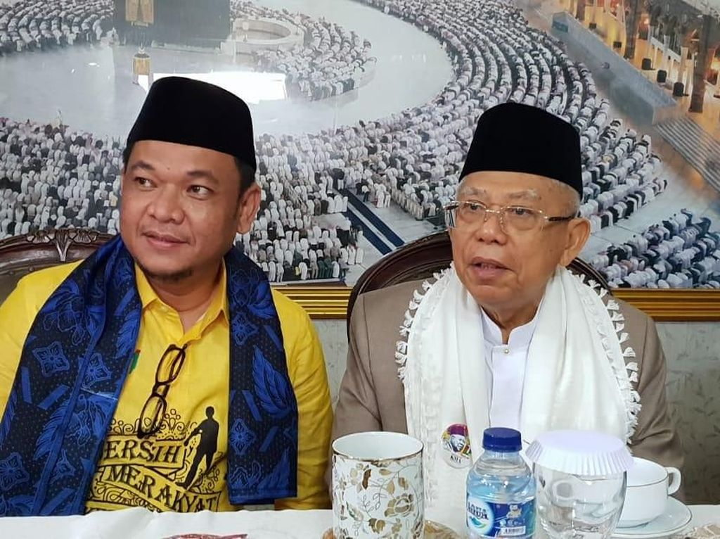 Haikal Hassan Usul Sowan ke Maruf Amin, TKN: Abah Sangat Terbuka