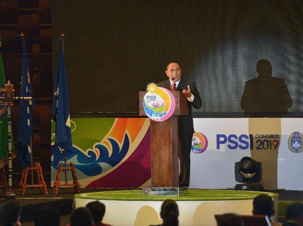 Edy Rahmayadi Mantap Mundur Dari Ketua Umum PSSI Usai Salat Subuh