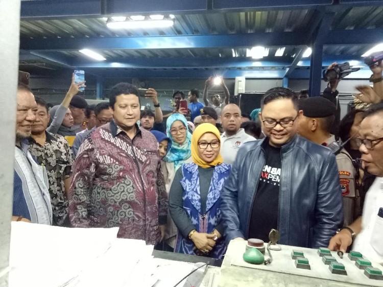 KPU Mulai Cetak Kertas Suara Pemilu 2019 Sebanyak 939 Juta Eksemplar