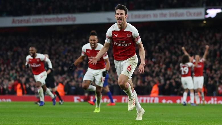 image of Pemain Laurent Koscielny Menjadi Bintang Kemenangan Arsenal Atas Chelsea