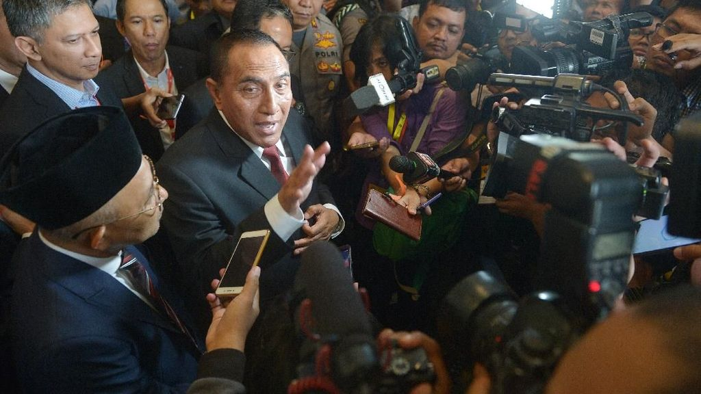 Edy Rahmayadi: Jadi Ketum PSSI di Ancol, Mundur di Nusa Dua