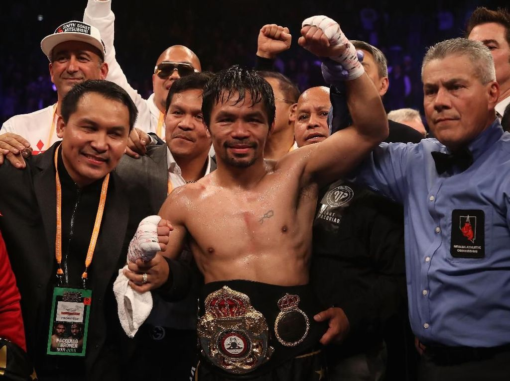 Tantangan Pacquiao untuk Mayweather: Ayo Duel Lagi