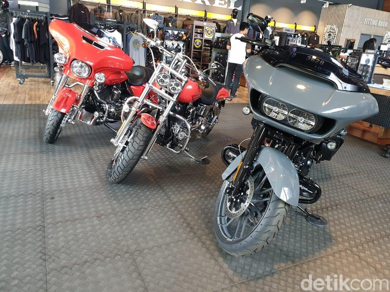 Moge Harley-Davidson. Foto: Luthfi Anshori