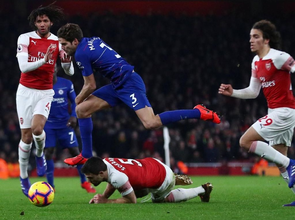 Sarri: Chelsea Tanpa Beban Ekstra, Arsenal Punya Motivasi Lebih