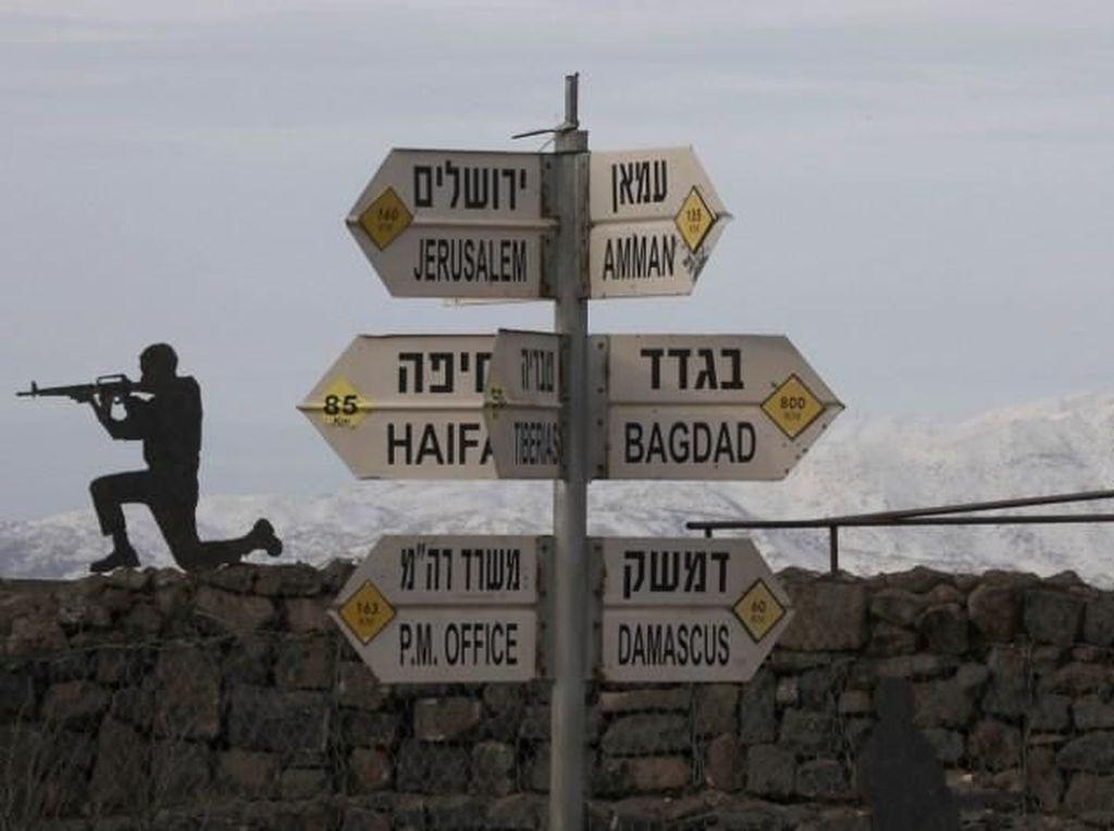 Tolak Keputusan Trump, Eropa Tegaskan Golan Bukan Wilayah Israel